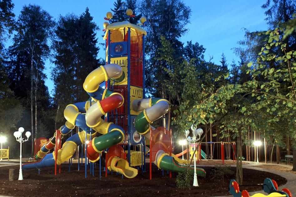 Детская площадка №2 в поселке Николино