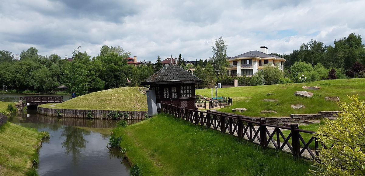 Каскад озер, поселок Николино