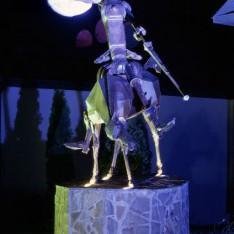 Скульптура Дон Кихот в поселке Николино