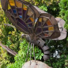 Скульптура Бабочки в КП Николино