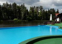 Открытый бассейн, поселок Николино