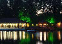 Ночная иллюминация, поселок Николино