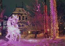Ледяной олень, поселок Николино